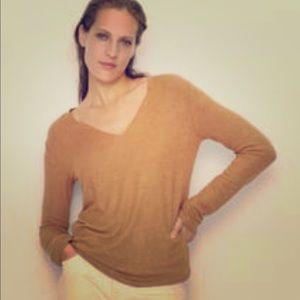 New Zara wool golden brown sweater